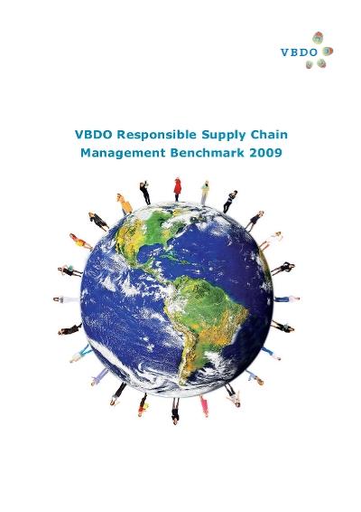 Responsible Supply Chain Management Benchmark - 2009 (VBDO